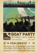 SOLU Boat Party with ITALOBOYZ