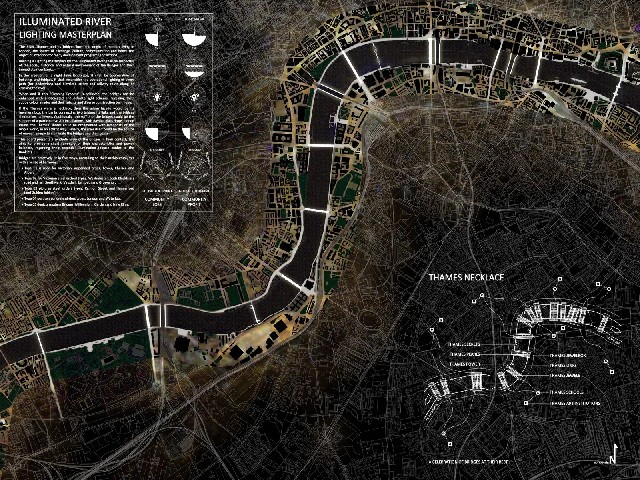 Illuminated River